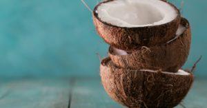 cocnut to be used for tiger nut milkshake