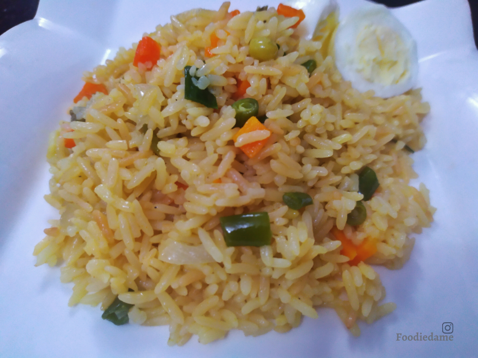 Foodiedame Golden Fried Rice