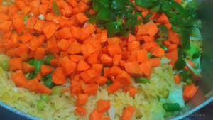 Foodiedame- Vegetables for Fried rice