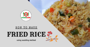 How to Make Golden Fried Rice by Sautéing