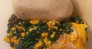 Oatmeal Swallow- a Healthy Recipe for Nigerian Solid Food Lovers